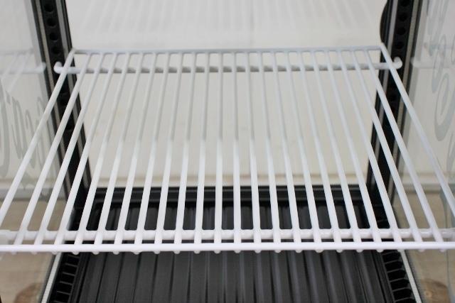 ■SANDEN/サンデン 冷蔵ショーケース 卓上 4面ガラス 両開き コカ・コーラ AG-LI54X-CCBK 2010年 中古■_画像8