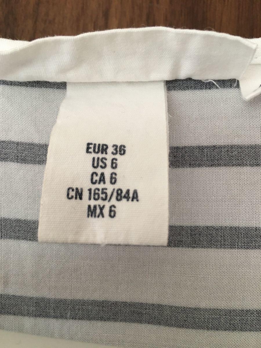 ボーダーカットソー Tシャツ トップス