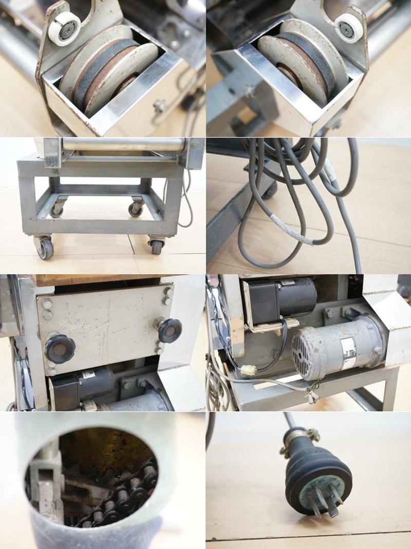 【さぬき麺機】麺製造機 せと TS-5型 幅約63.5cm 小型 手打ち麺機 専門制作 厨房機器 飲食店 店舗 業務用_画像8