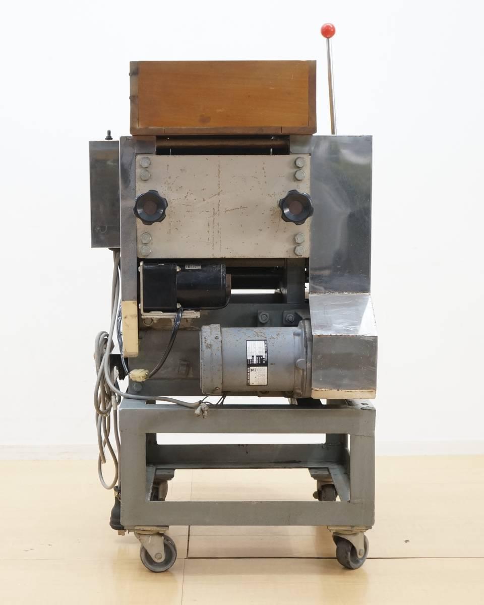 【さぬき麺機】麺製造機 せと TS-5型 幅約63.5cm 小型 手打ち麺機 専門制作 厨房機器 飲食店 店舗 業務用_画像5
