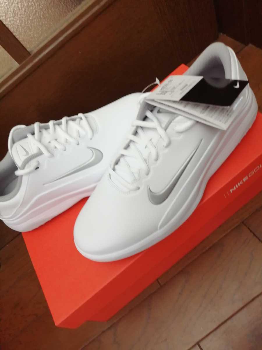 新品未使用■NIKE GOLF VAPOR W AQ2301 100 白 ホワイト WHITE ナイキ ゴルフ シューズ 靴 スパイク 27.0cmW_画像4