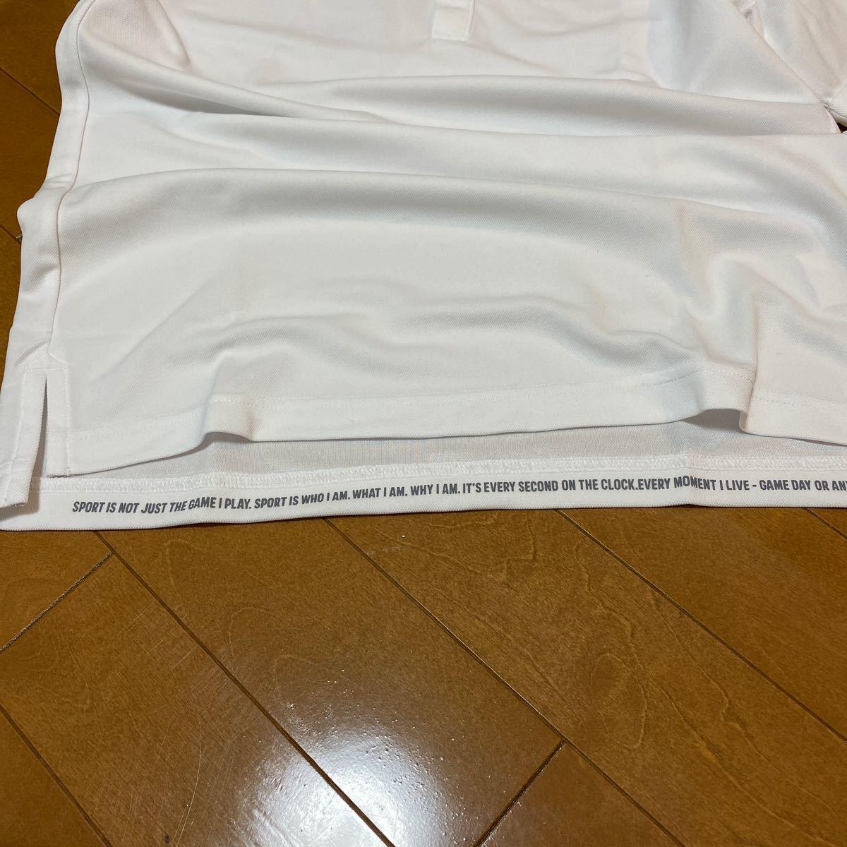 アディダス ポロシャツ未使用品 抗菌 防臭