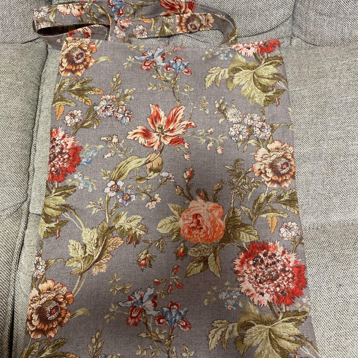 花柄 ハンドメイド  トートバッグ