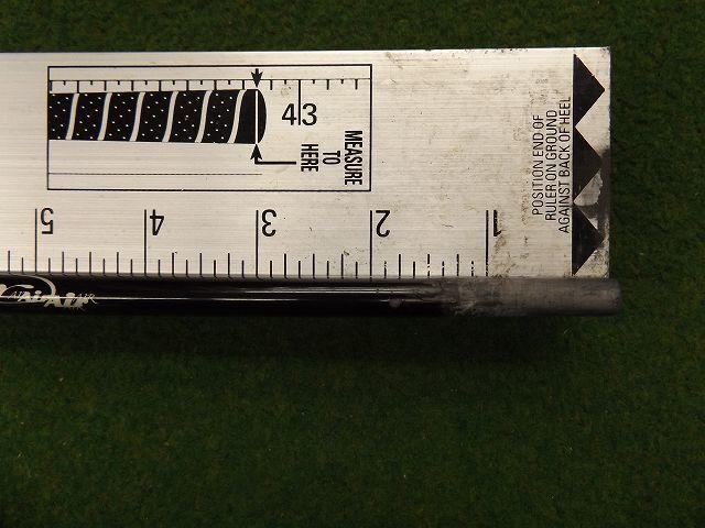 【税込】【801】TRPX air R 44.125インチ トリプルエックス シャフト単品 _画像4