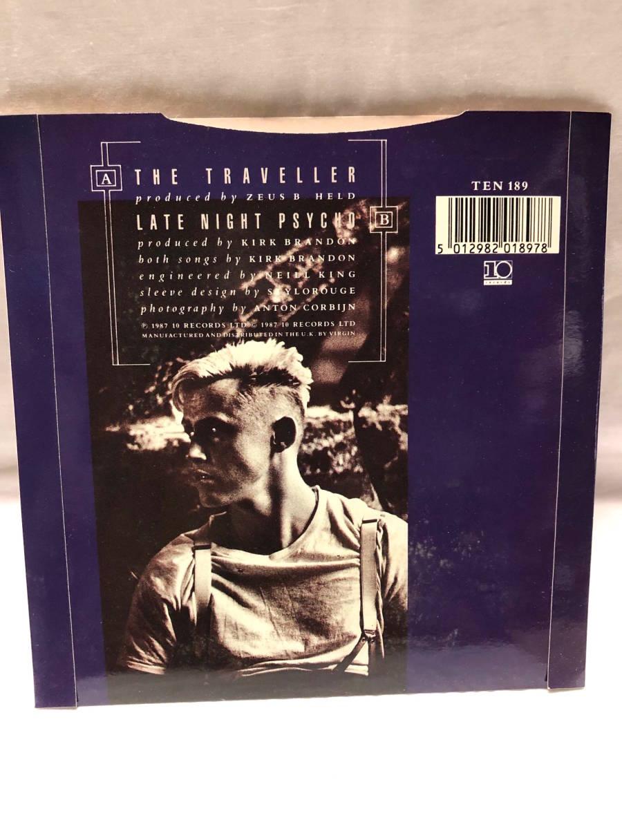 SPEAR OF DESTINY THE TRAVELLER 豪華箱入7インチシングル輸入盤◎ステッカー+パッチ+ポスター スピアーオブデスティニー LIMITED EDITION_画像6