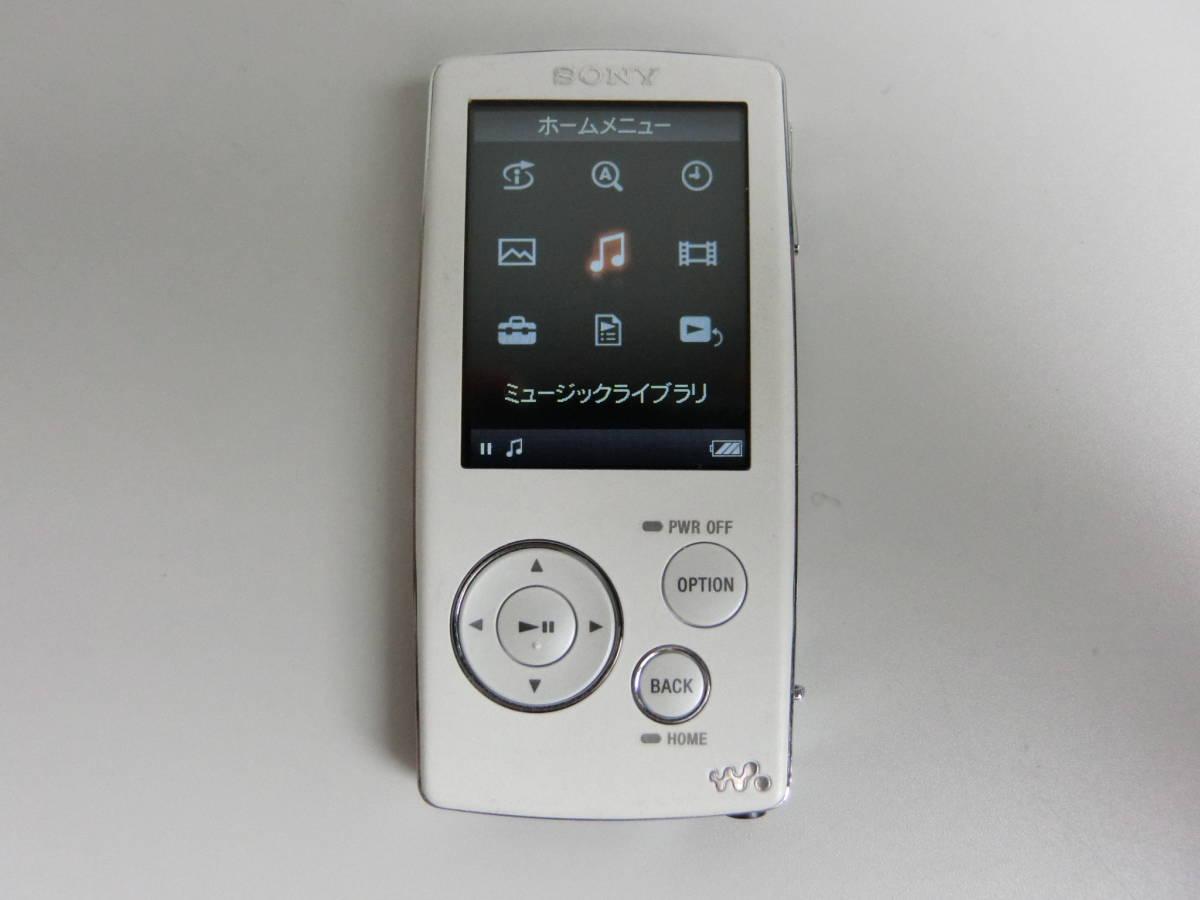 SONY WALKMAN Aシリーズ NW-A805 2GB ホワイト_画像1