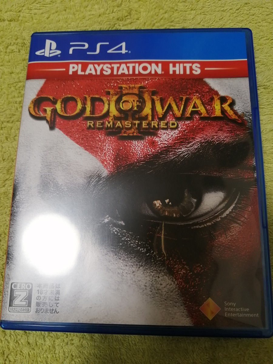 PS4 ゴッド オブ ウォー3 リマスタード PS4