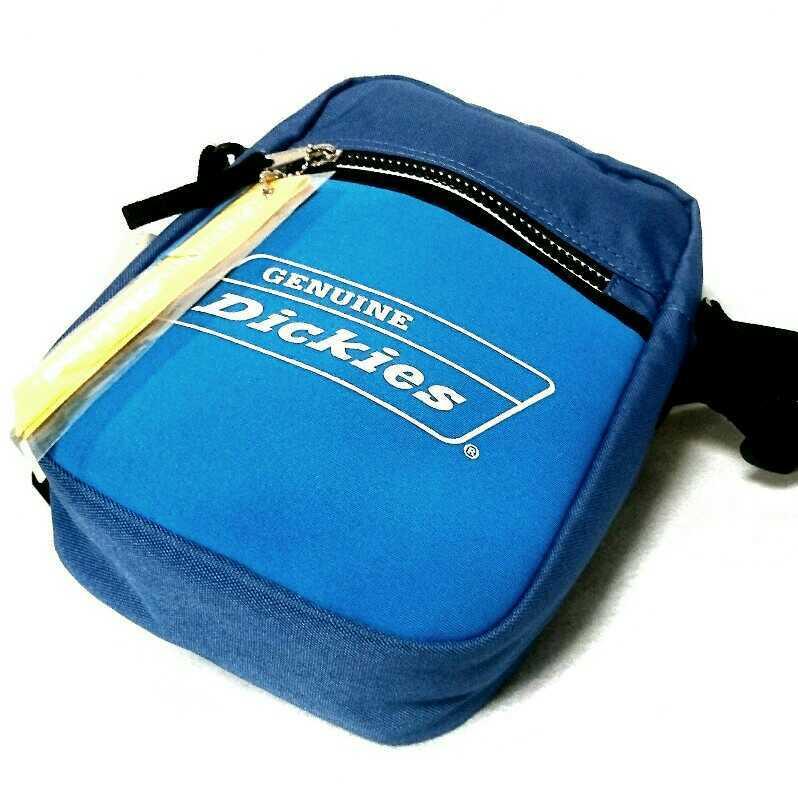 未使用/Genuine Dickies/ディッキーズ/スクエア/ショルダーバッグ/横17×縦24×幅7cm/C.blue×sky