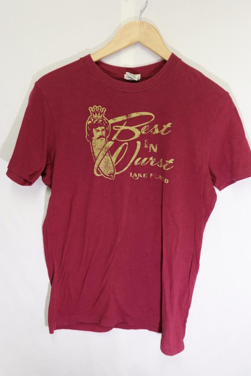 【メンズ】アバクロンビー&フィッチBEST Tシャツ/USAブランドアメカジ老舗カッコいいゴールド!!S_画像2