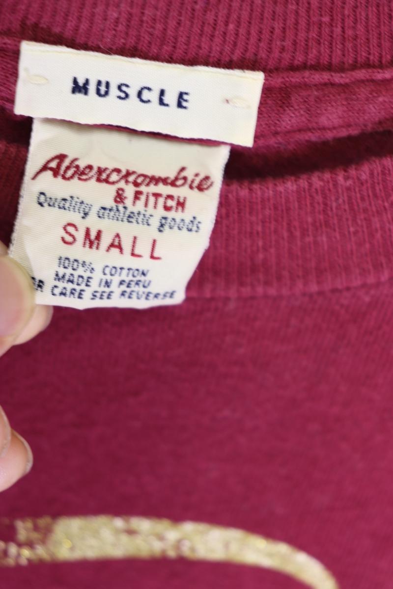 【メンズ】アバクロンビー&フィッチBEST Tシャツ/USAブランドアメカジ老舗カッコいいゴールド!!S_画像4