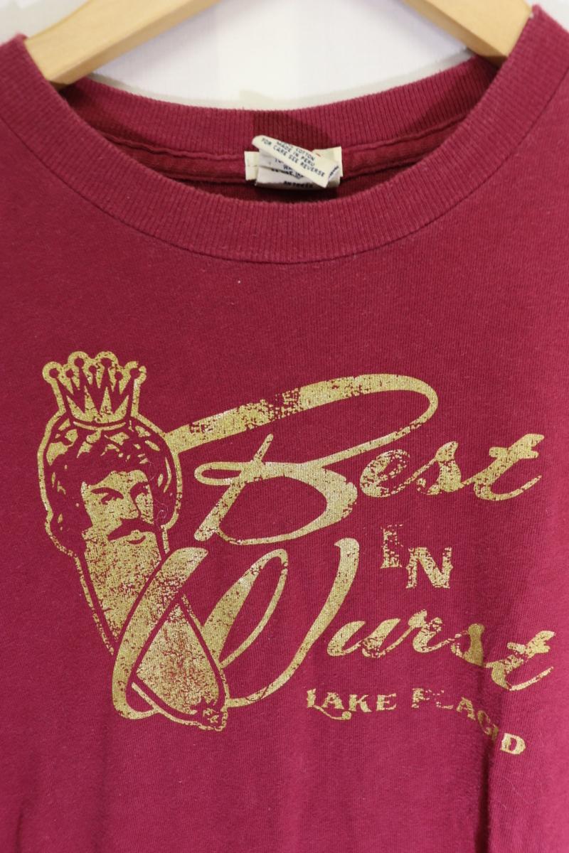 【メンズ】アバクロンビー&フィッチBEST Tシャツ/USAブランドアメカジ老舗カッコいいゴールド!!S_画像3