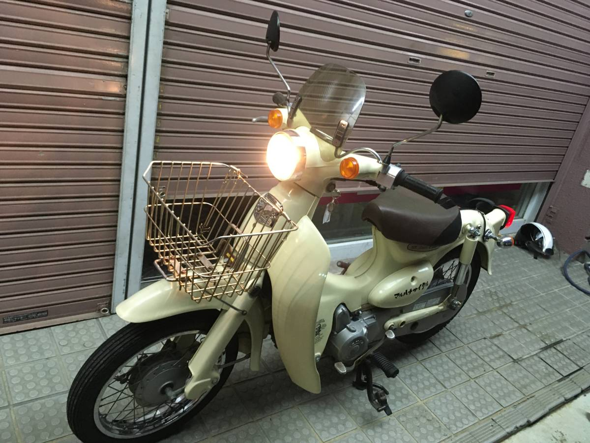 「名古屋発 HONDA little cub50 リトルカブ50 AA01 エンジン好調 4速リターン スクリーン付き 」の画像1