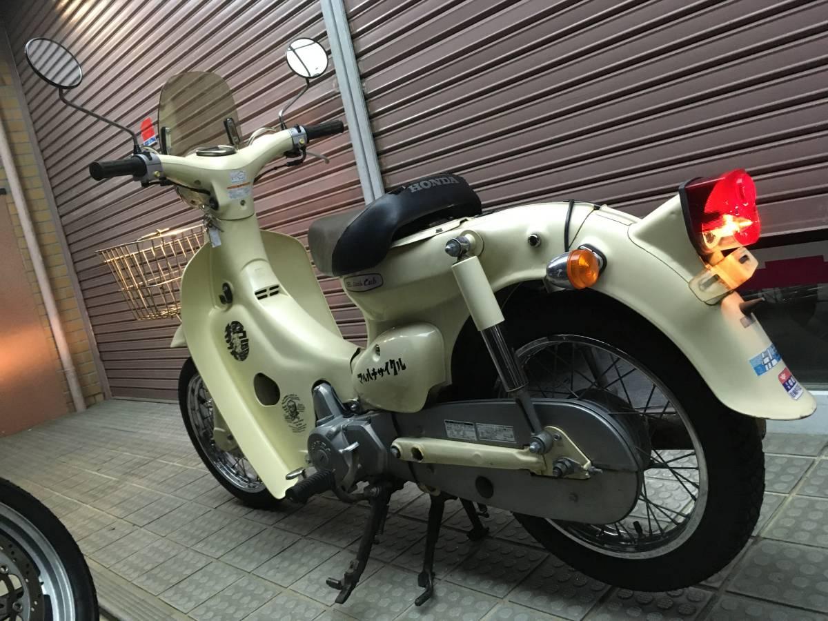「名古屋発 HONDA little cub50 リトルカブ50 AA01 エンジン好調 4速リターン スクリーン付き 」の画像3