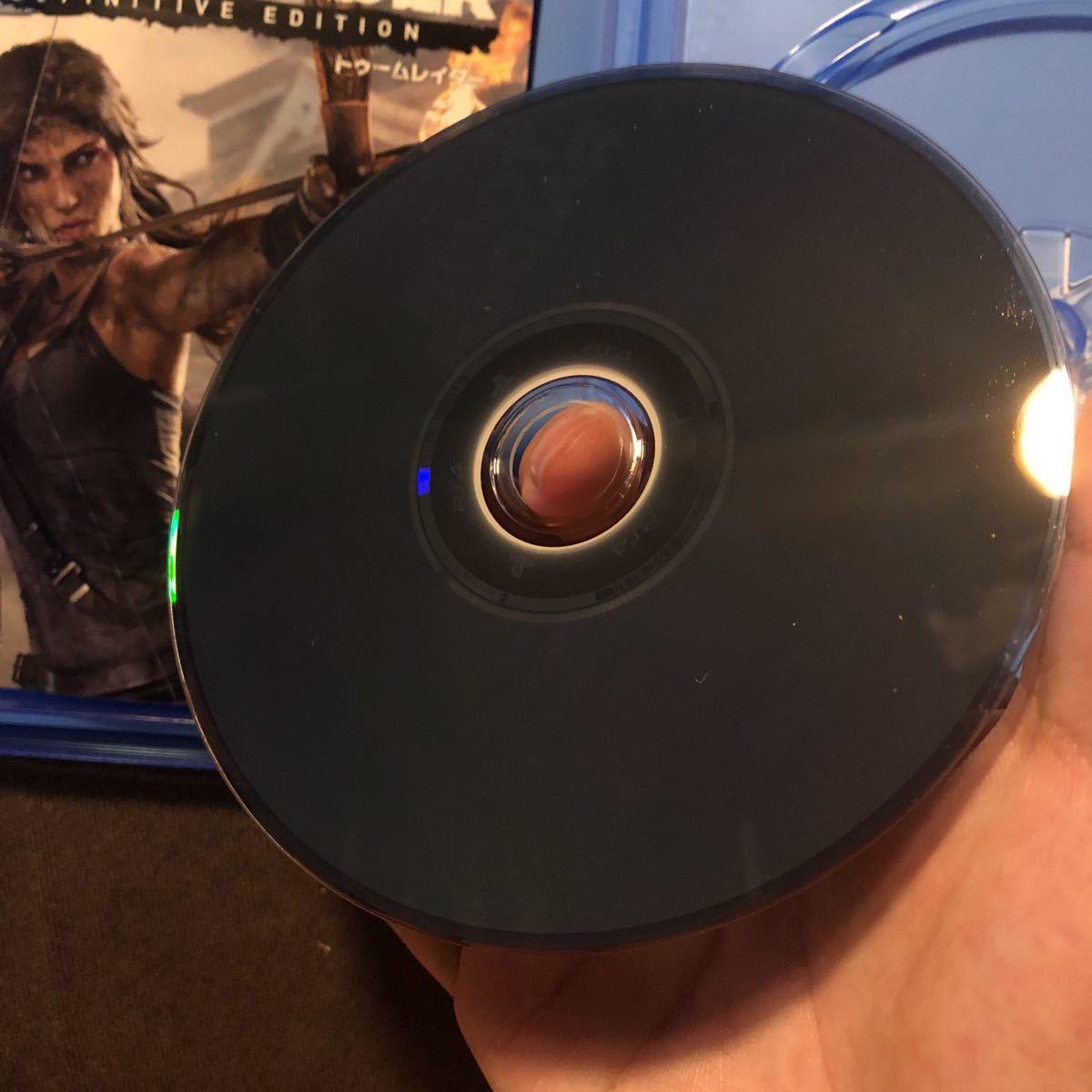 送料無料 トゥームレイダー ディフィニティブ エディション PS4