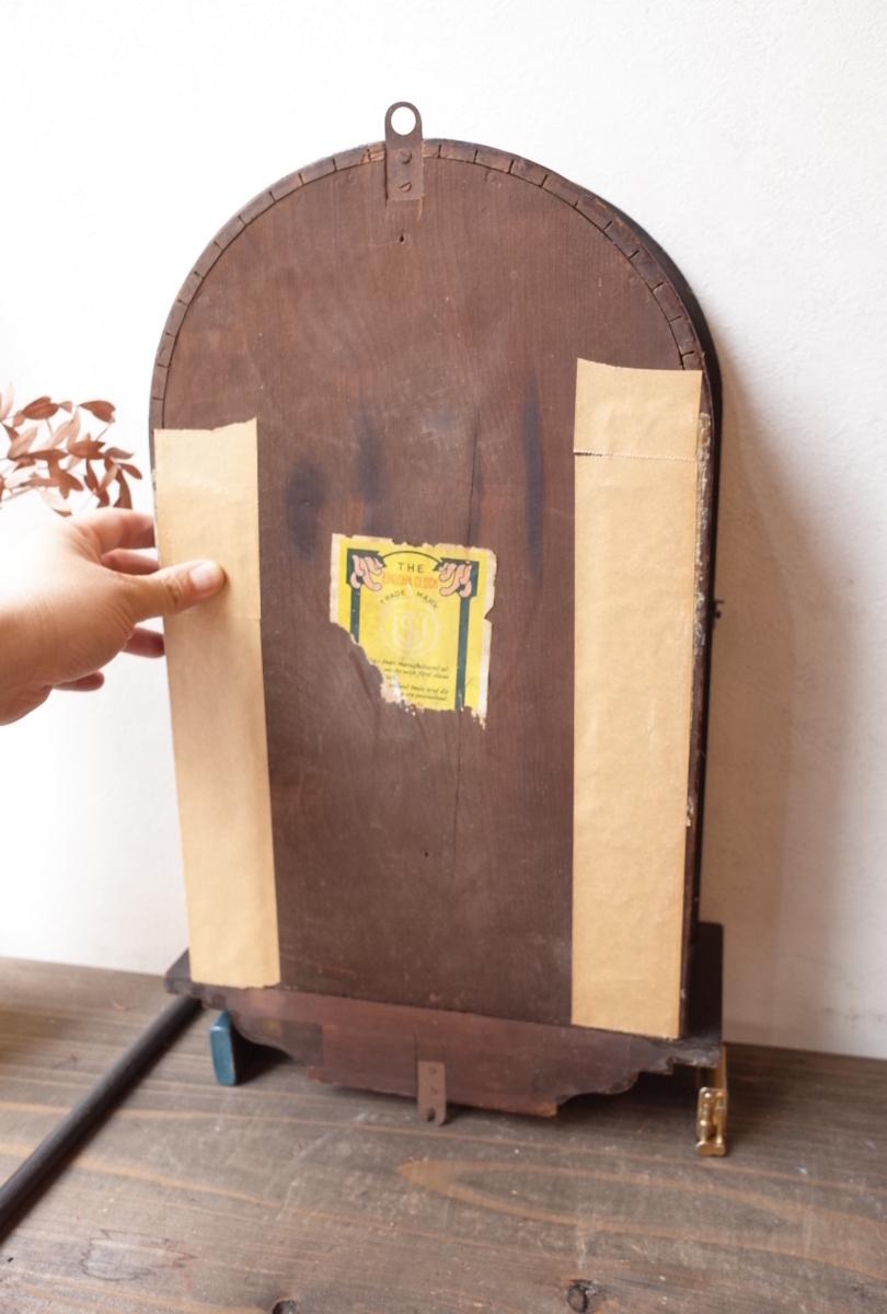 ○EIKOSHA 栄光舎 手巻き振り子時計アンティーク デザイン可愛い 古道具のgplus広島 2006k_画像6