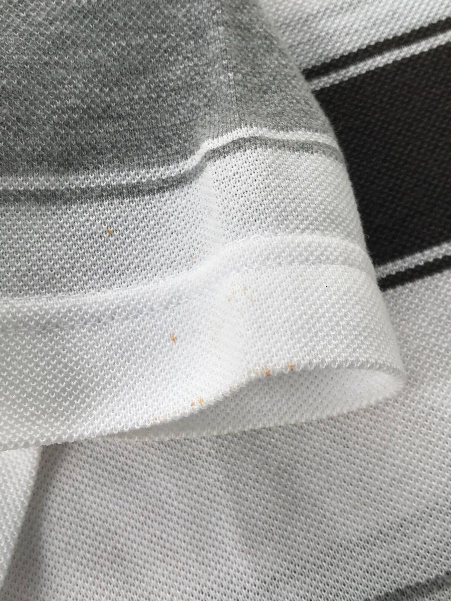 ルコック le coq sportif ルコックスポルティフ ゴルフウェアー Lサイズ 劣化品 メンズ シャツ_画像6