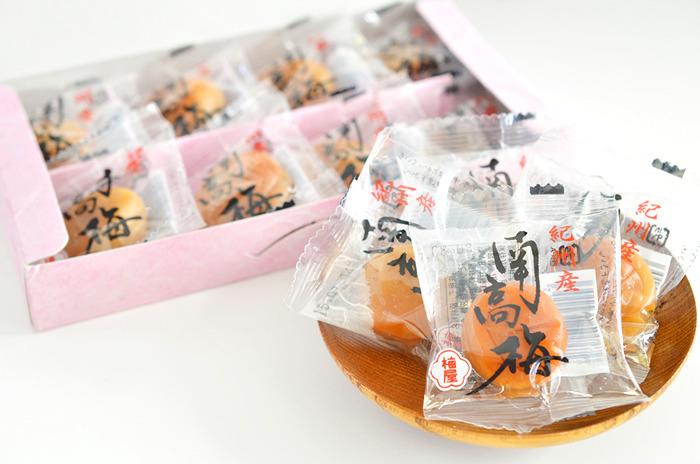 【激安・送料格安・美味しい・健康維持】 個包装 ハチミツ入り 紀州南高梅 8個詰め合わせ 1箱_画像2