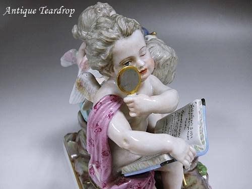 ◆マイセン人形「天体観測」◆アンティークマイセン_画像7