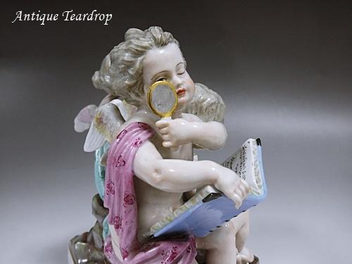 ◆マイセン人形「天体観測」◆アンティークマイセン_画像6