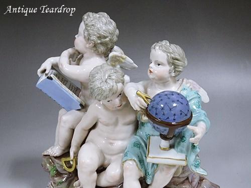 ◆マイセン人形「天体観測」◆アンティークマイセン_画像3