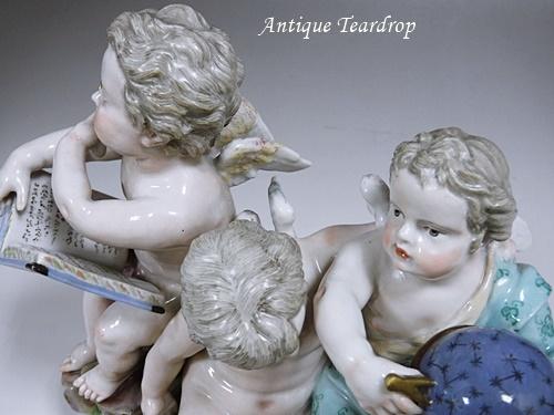 ◆マイセン人形「天体観測」◆アンティークマイセン_画像9