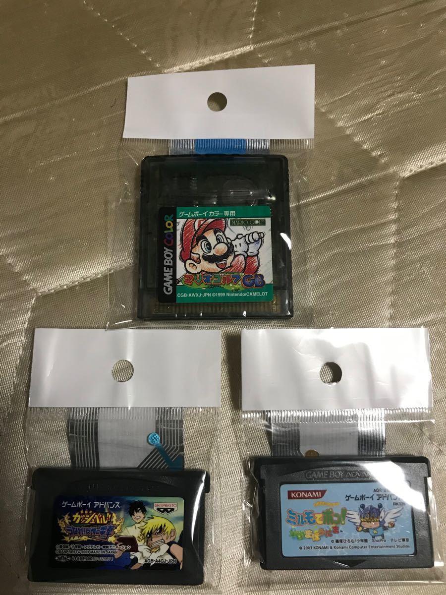 ゲームボーイアドバンス GBA  ソフト まとめ売り カラー マリオテニスGBK