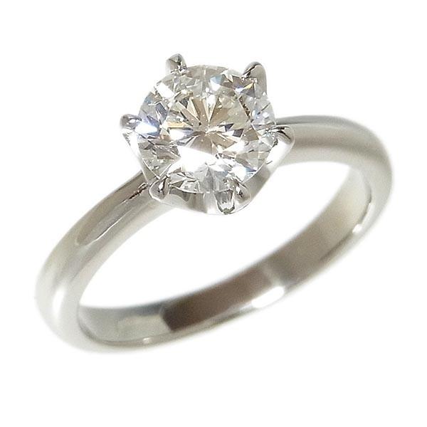 【田崎真珠】TASAKI タサキ Pt900ダイヤ指輪 1.067ct G.SI-1.VG/4.5g/9号_画像2