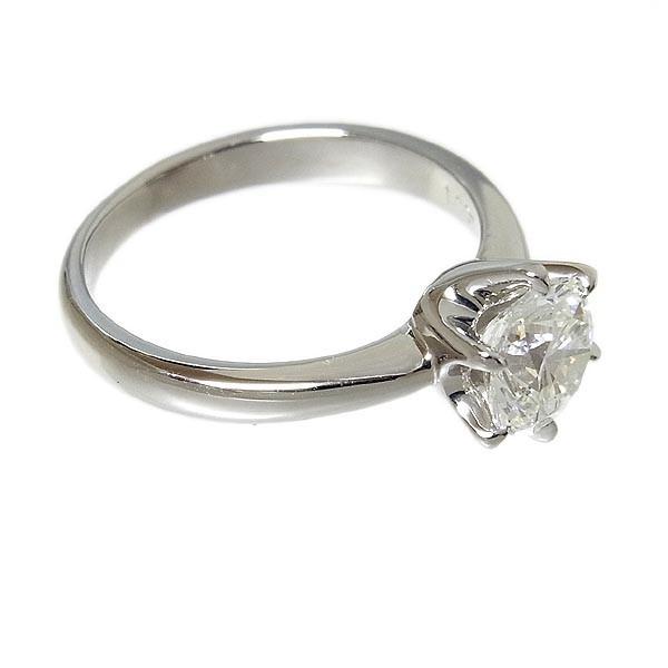 【田崎真珠】TASAKI タサキ Pt900ダイヤ指輪 1.067ct G.SI-1.VG/4.5g/9号_画像4