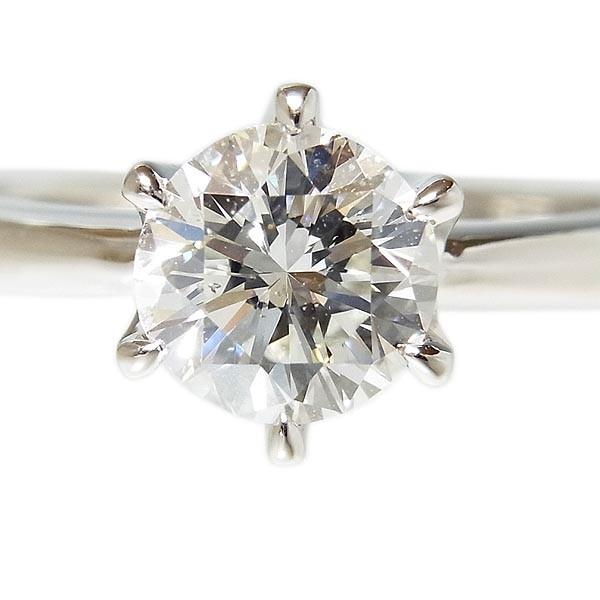 【田崎真珠】TASAKI タサキ Pt900ダイヤ指輪 1.067ct G.SI-1.VG/4.5g/9号_画像3