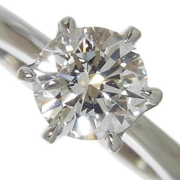 【田崎真珠】TASAKI タサキ Pt900ダイヤ指輪 1.067ct G.SI-1.VG/4.5g/9号_画像1