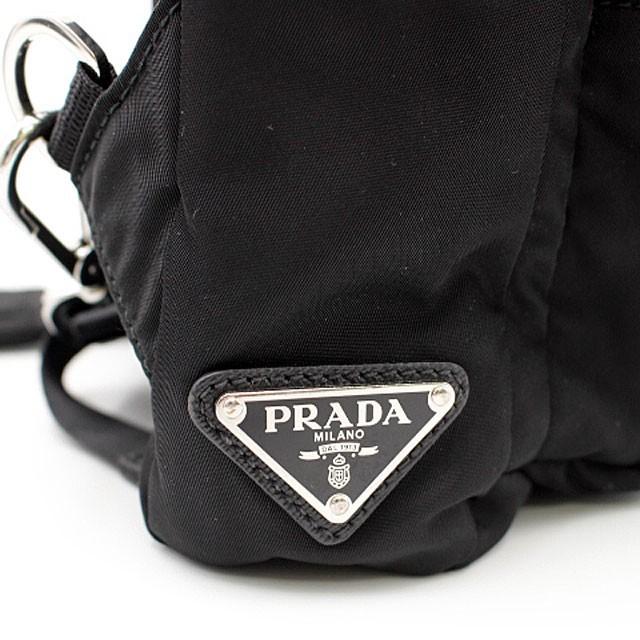 PRADA プラダ ナイロン ボディバッグ /2VZ013/NERO_画像4