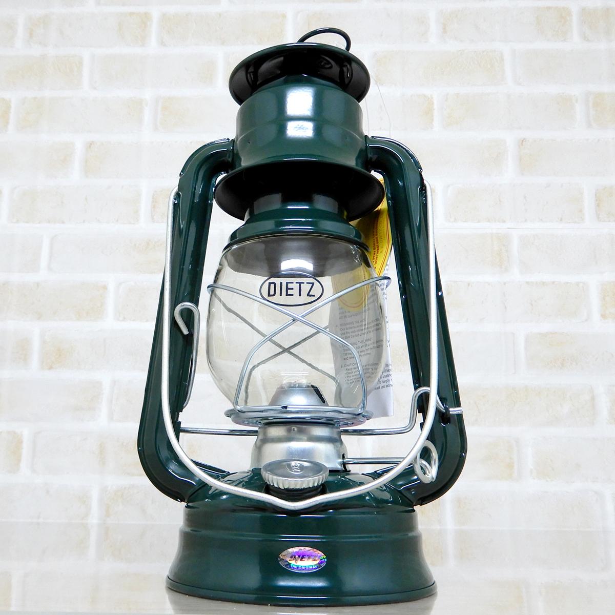 バーナー付【送料無料】新品 Dietz #76 Original Oil Lantern - Green 【日本未発売】◇デイツ グリーン ハリケーンランタン 緑 新品未使用