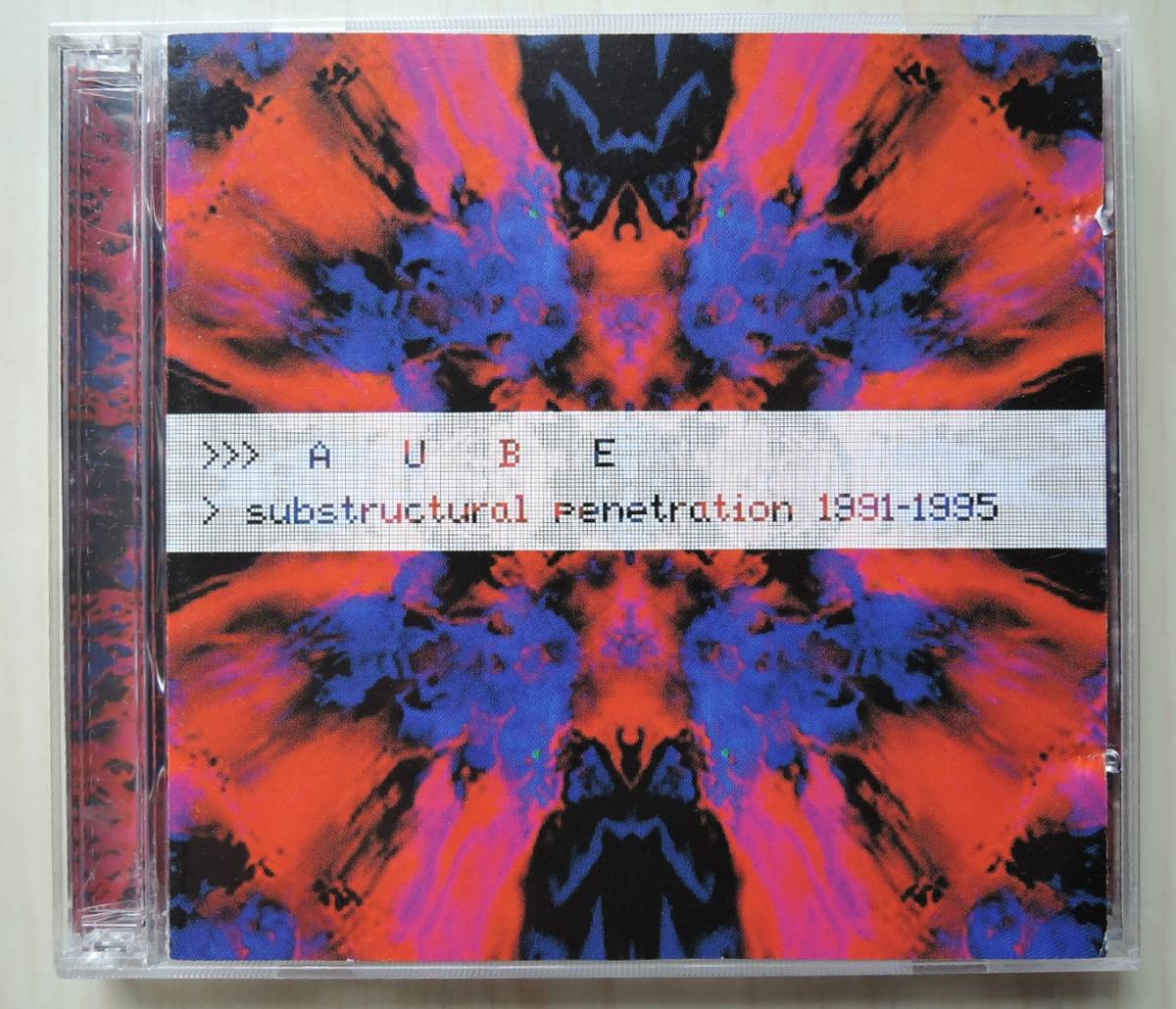 CD■ AUBE ■ SUBSTRUCTURAL PENETRATION 1991-1995 ■ 輸入盤 ■_画像1