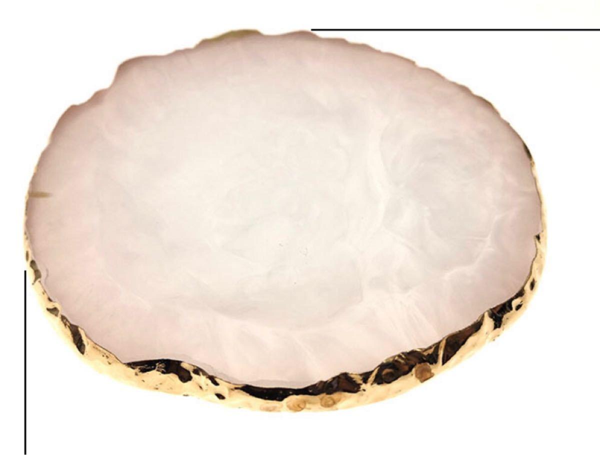 ホワイト 大理石風ネイルアートパレット