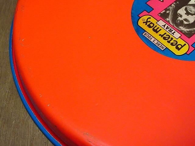ビンテージ70's★Peter Max ティントレイ★200108n8-otclct ブリキ雑貨ピーターマックス_画像10