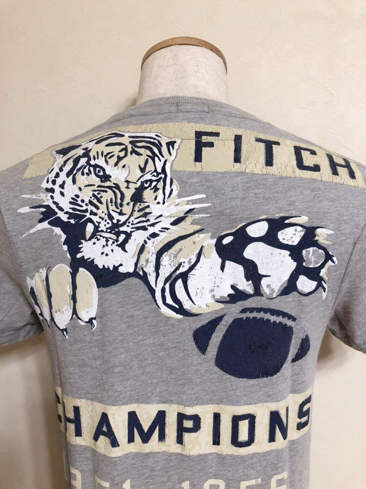Abercrombie & Fitch アバクロンビー&フィッチ A&F 半袖 Tシャツ トップス サイズS 半袖 グレー