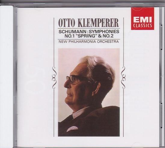 ★CD EMI シューマン:交響曲第1番 春&第2番 *オットー・クレンペラー(Otto Klemperer)_画像1