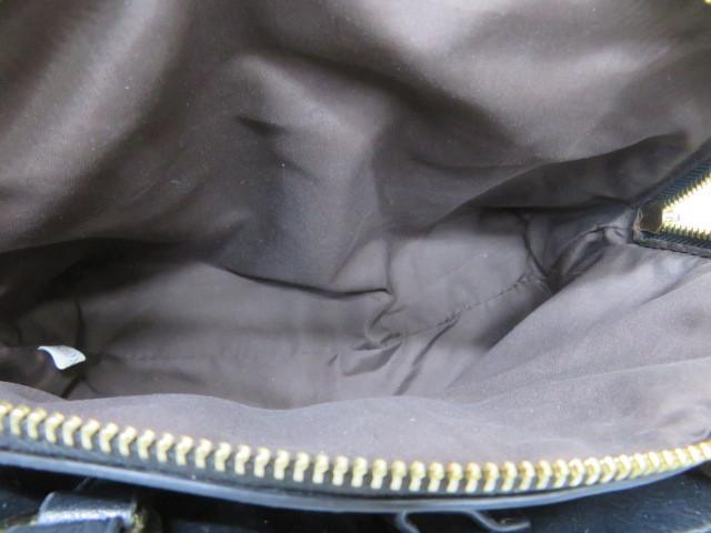 SALON de RUBAN サロンドゥリュバン レディース ツイード2wayバッグ ハンドバッグ ショルダーバッグ_画像9