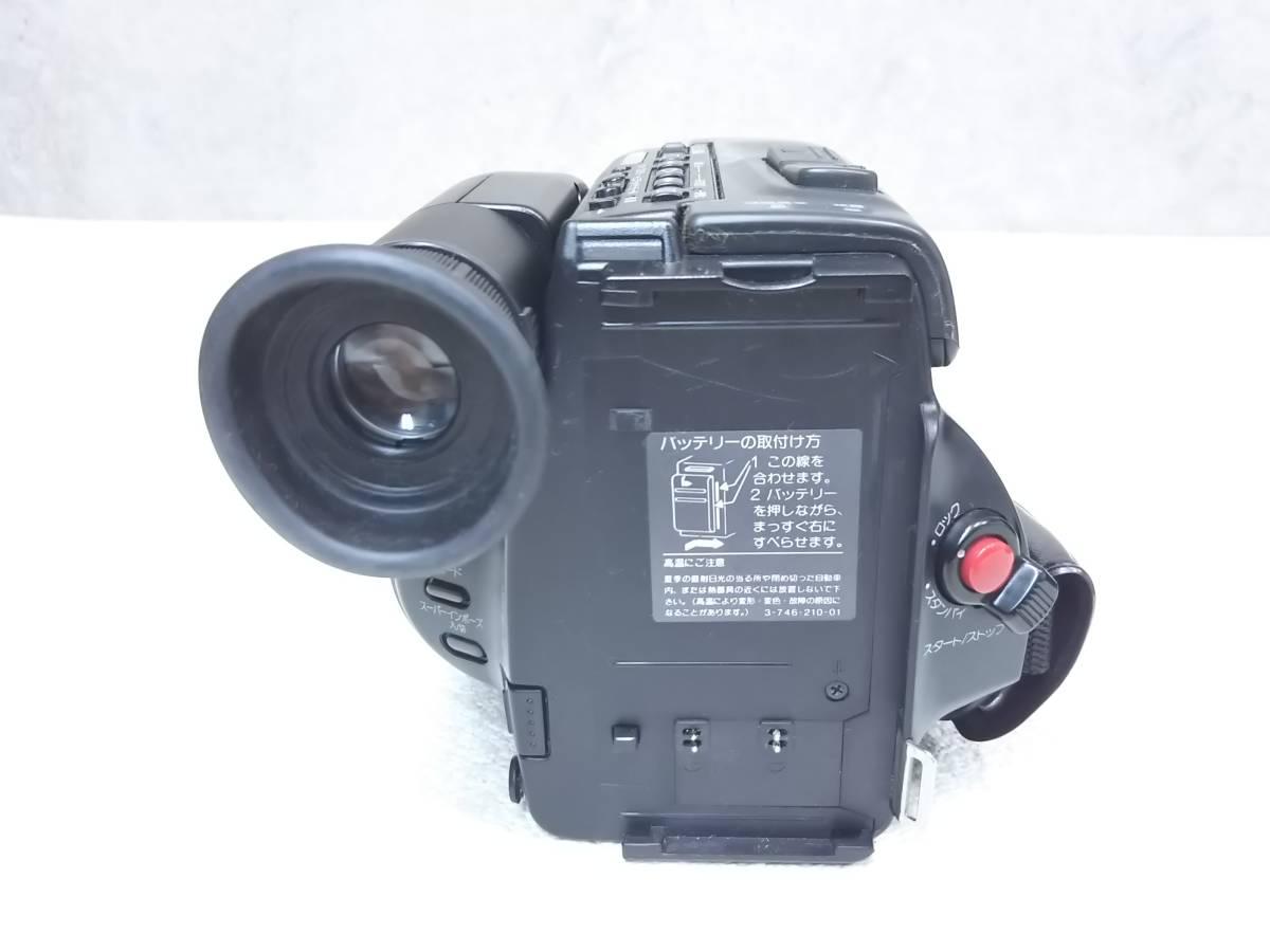 【ジャンク】SONY/ソニー CCD-TR75 ビデオカメラレコーダー ハンディカム Video8  レトロ_画像5
