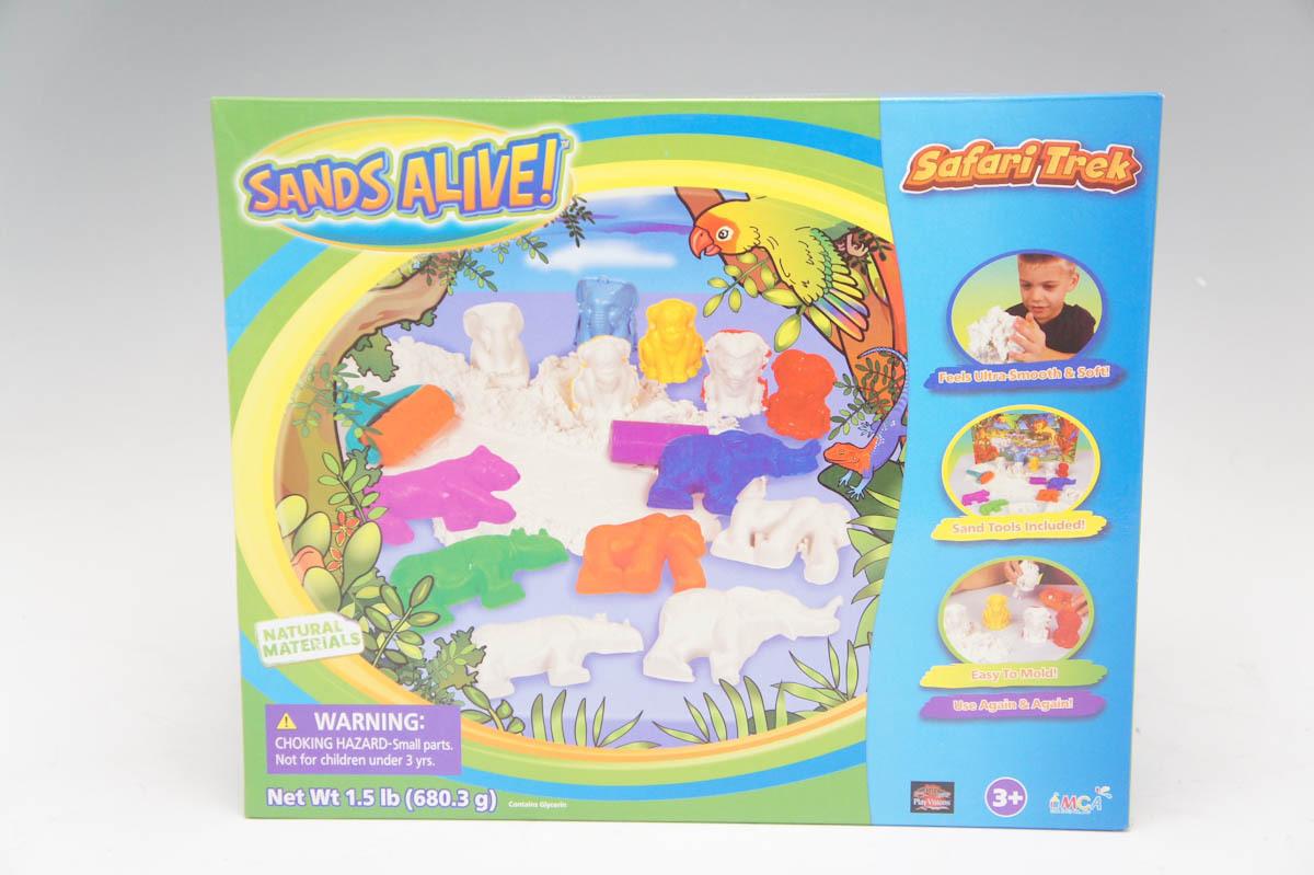 【未使用品】 サンズアライブ サファリトレック 室内 砂遊び_画像1