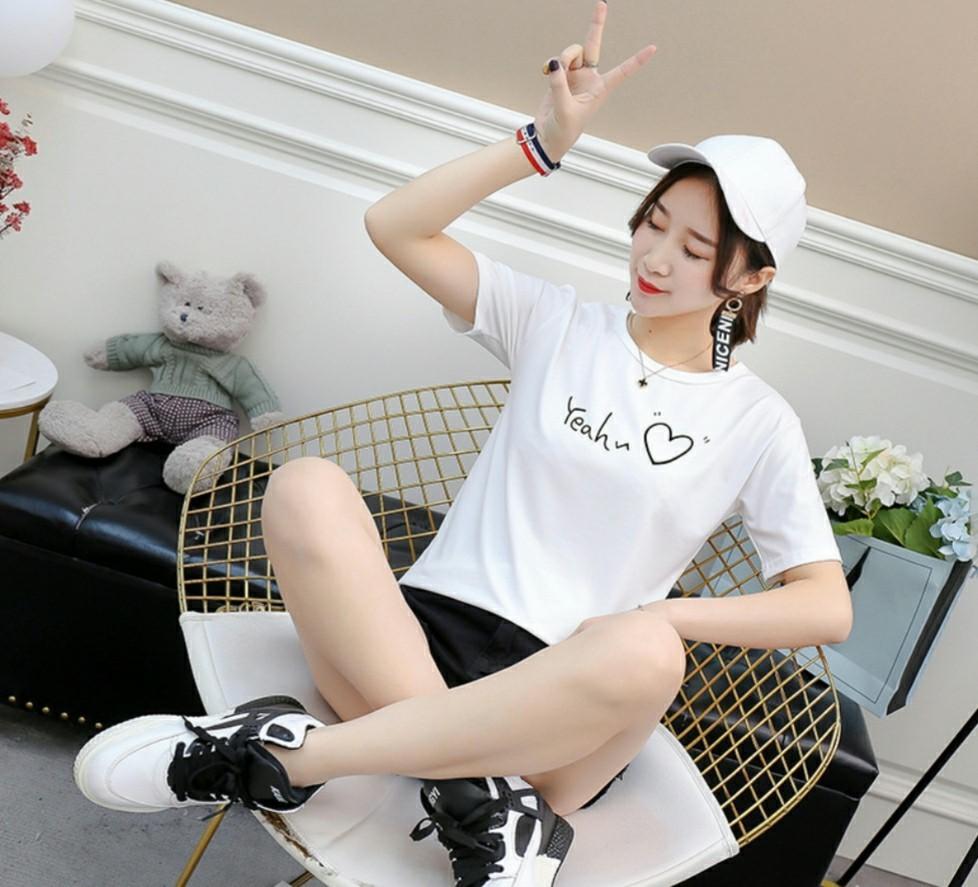 ロゴTシャツ トップス プリント 半袖 カットソー Lサイズ