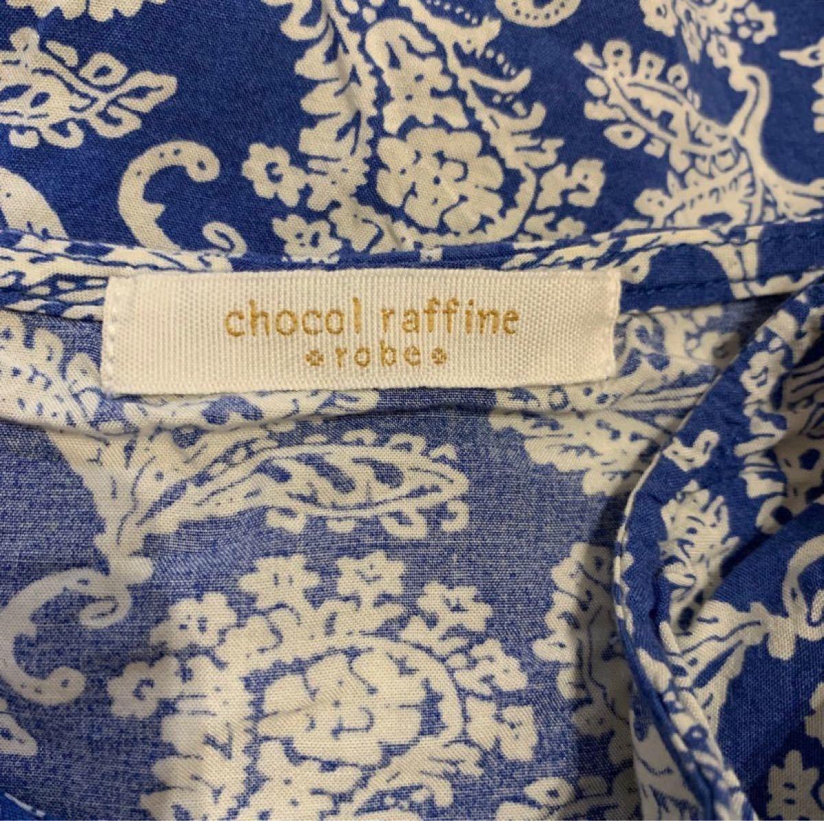 chocol raffine robe 半袖 チュニック