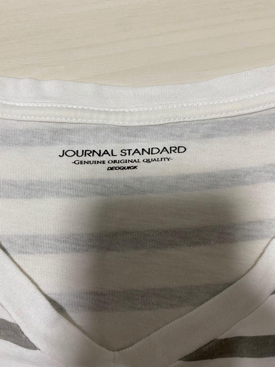 半袖Tシャツ ボーダーTシャツ ジャーナルスタンダード メンズ