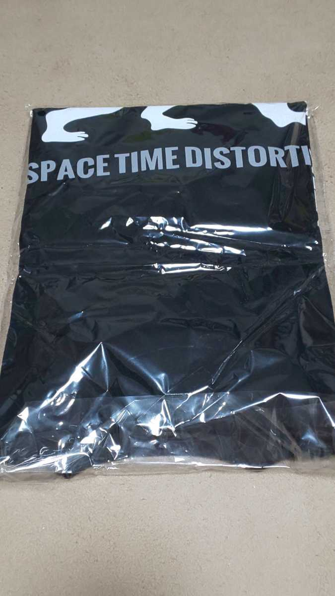 【レア】SPACE TIME DISTORTION 時空の歪み ゼリ→ ゼリー 南アフリカ ライブ限定Tシャツ 2020 Lサイズ YAFUMI 未開封 URBAN COHESION_画像2