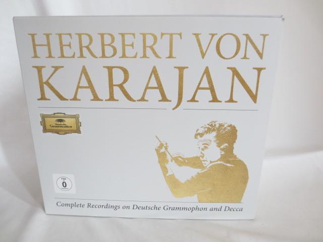 HERBERT VON KARAJAN 大型BOX CD+DVD+Blu-ray Audio 美品_画像1
