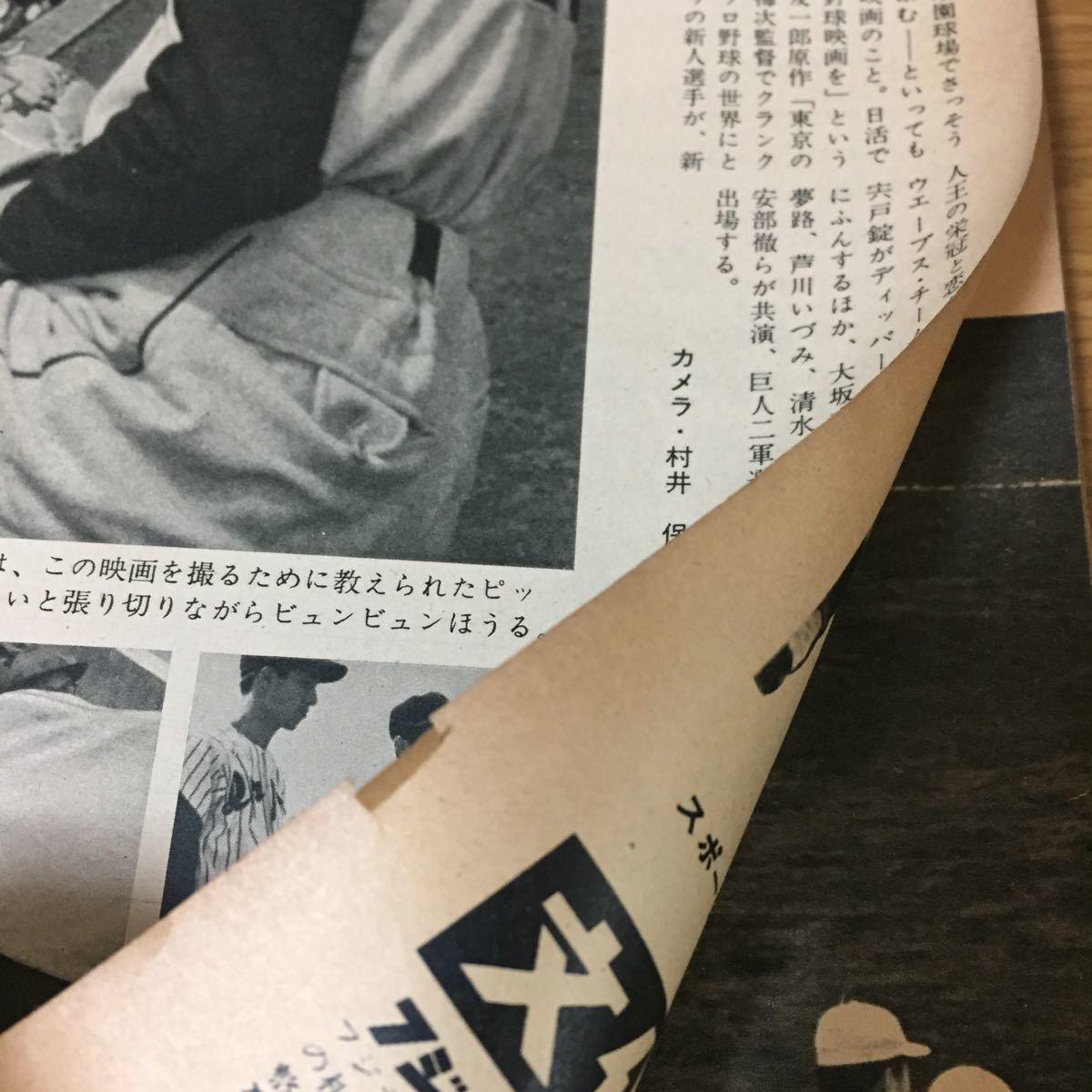 当時物 週刊読売スポーツ プロ野球誌 1959年(昭和34年)5月15日発行 野球 巨人 アンパイアの憂うつ_画像8