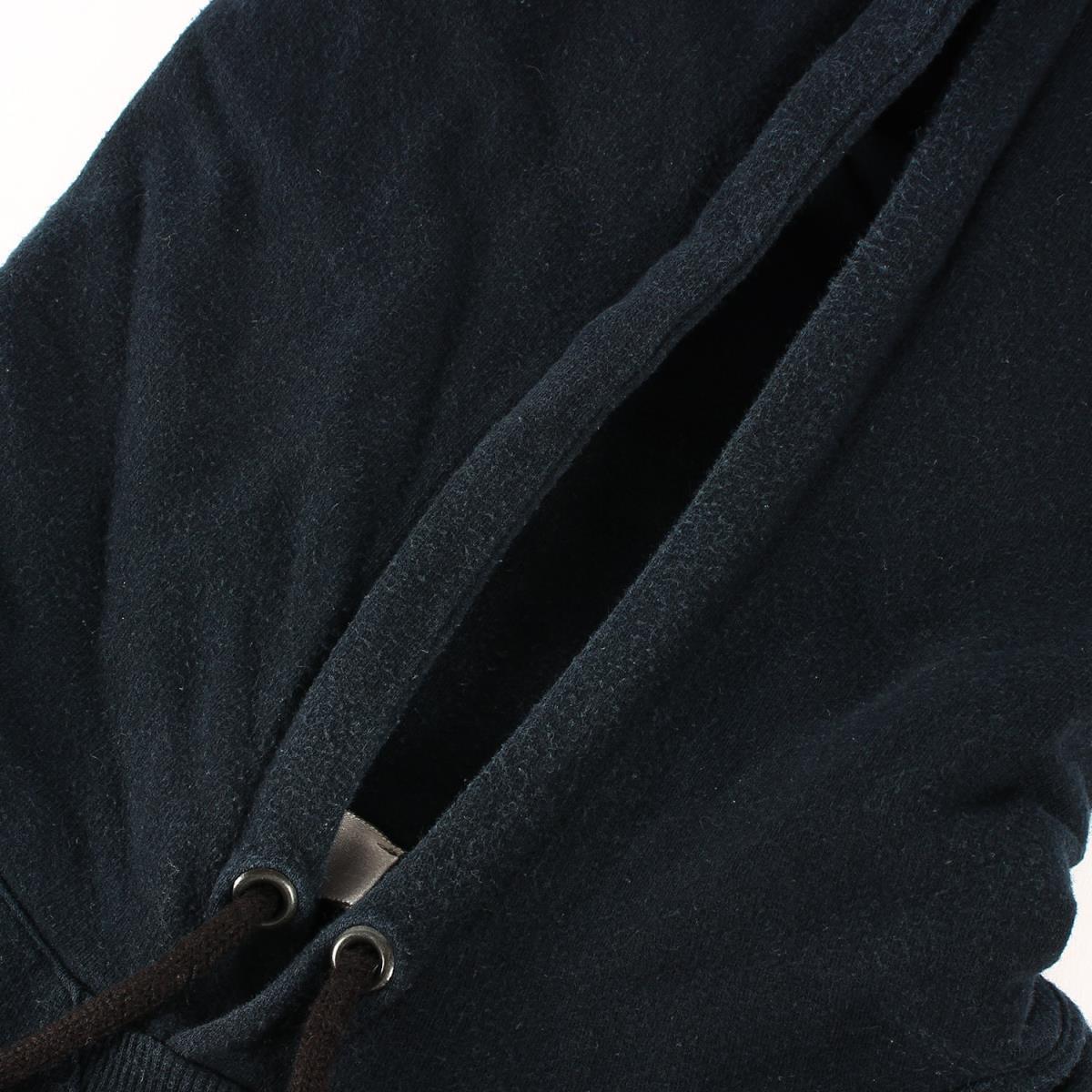 Dior HOMME ディオールオム パーカー 06AW These Grey Days期 グラフィックロゴ スウェット パーカー ブラック XS_画像4
