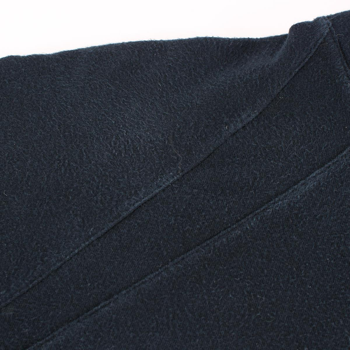 Dior HOMME ディオールオム パーカー 06AW These Grey Days期 グラフィックロゴ スウェット パーカー ブラック XS_画像7