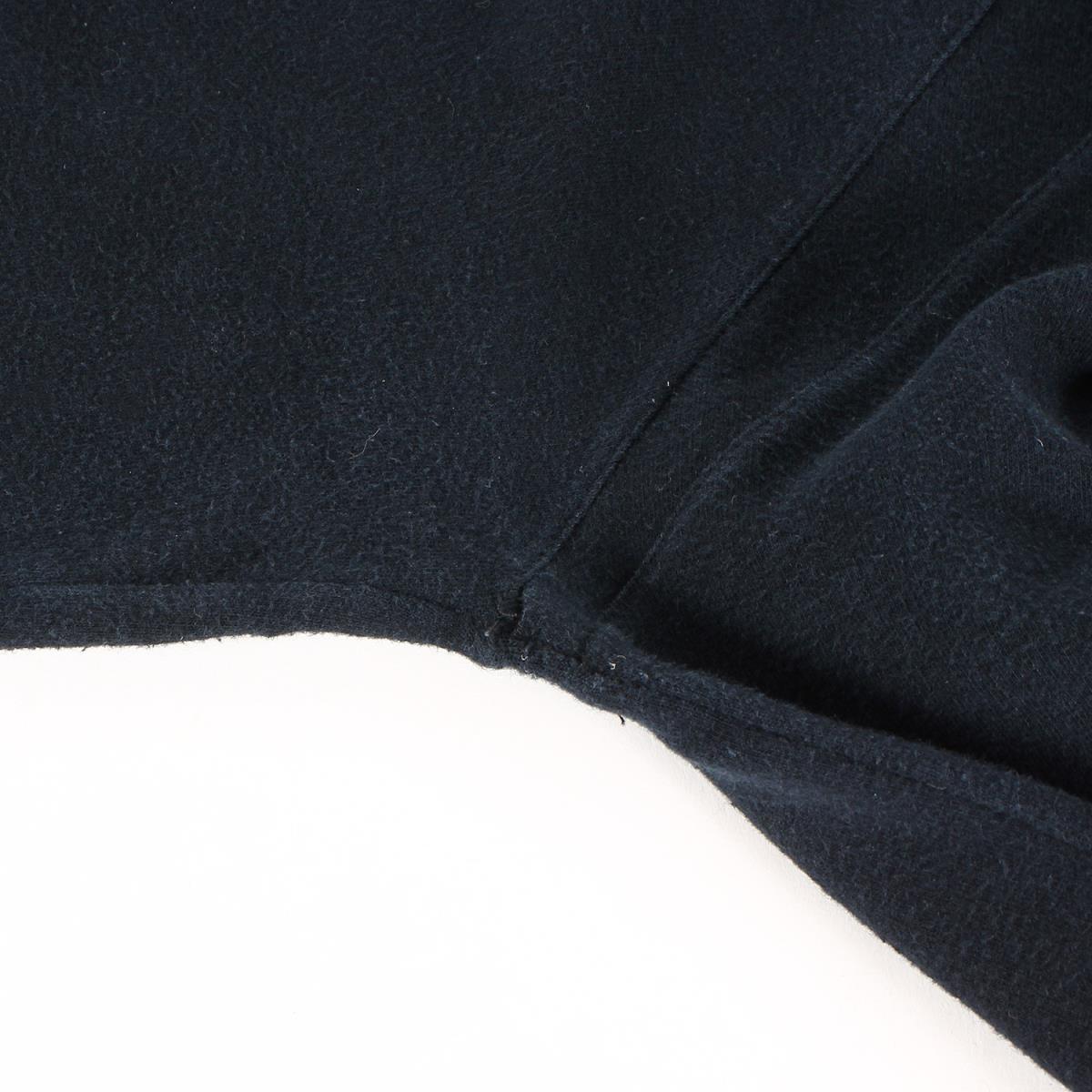Dior HOMME ディオールオム パーカー 06AW These Grey Days期 グラフィックロゴ スウェット パーカー ブラック XS_画像8