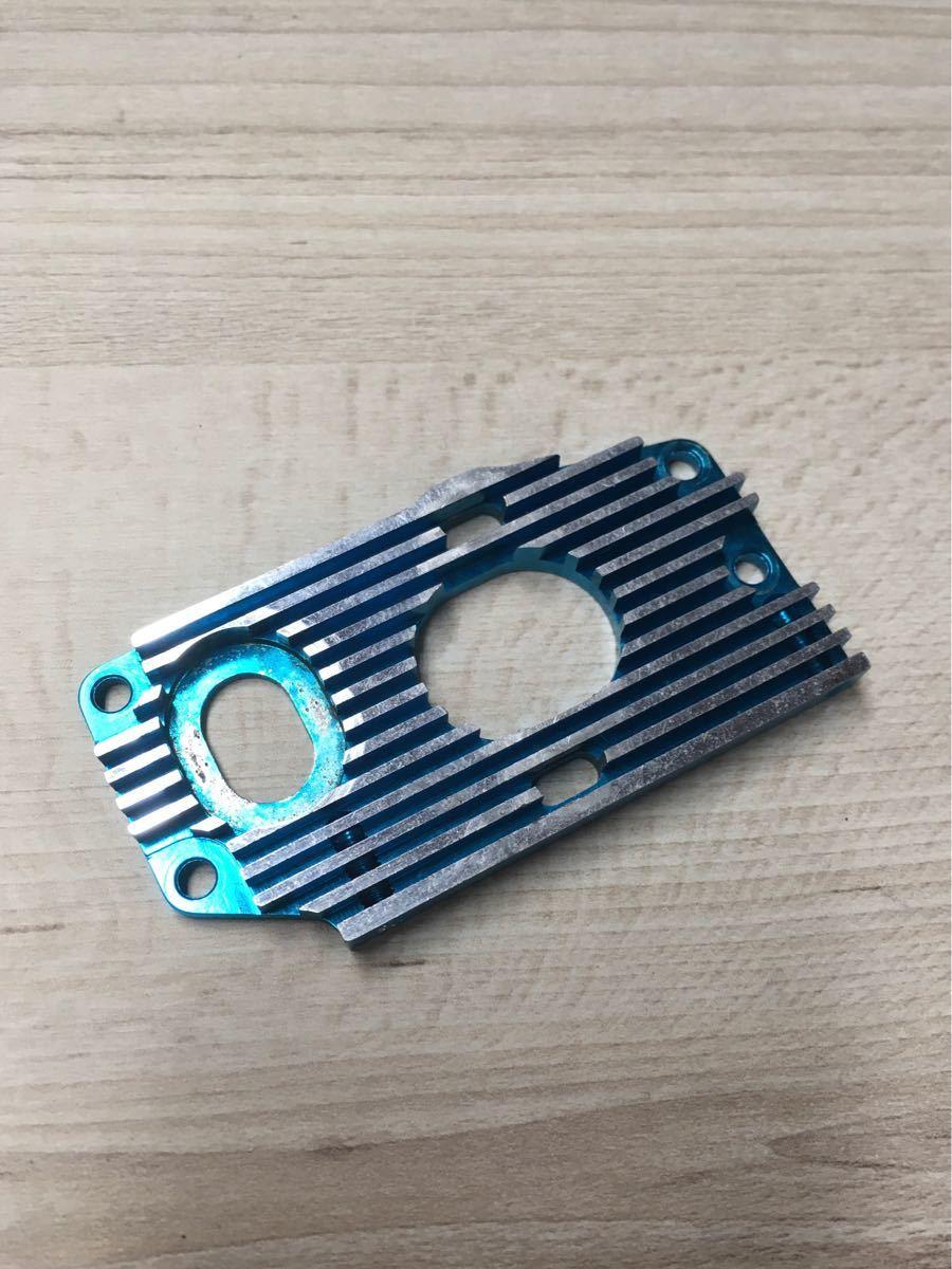 タミヤ F103 F103GT アルミモーターマウント ブルー その2
